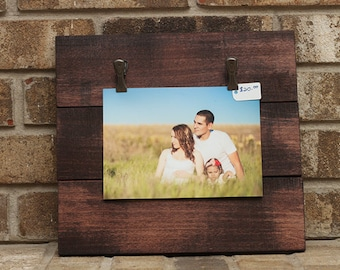 Wall Frame Holds One 5x7 or Two 4x6's