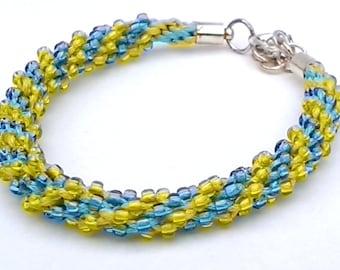 Kumihimo bracelet - handmade