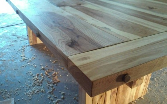 Hickory Dining Table- butcher block finish ****Beautiful****
