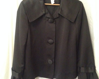 Vintage Black Evening Jacket
