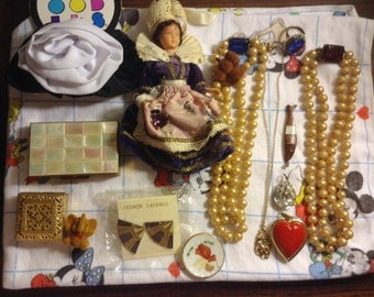 Vintage scrap Jewerly and parts