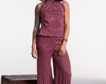 Seventies Two Piece Bell Bottom set