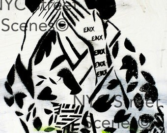 Hidden Geisha© NYC Graffiti - NYC Street Scenes