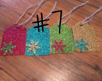 Snow Flake Gift Tags #7