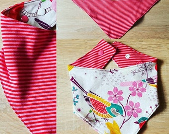 Reversible scarf for girls