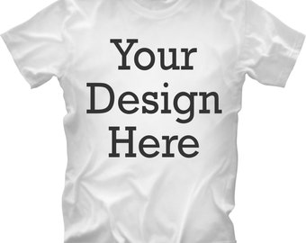 x12 Custom T-Shirt One Color Design FREE SHIPPING!!!