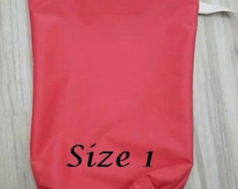 Made to order Large wet sac /Large wet sac/ Wet sack/ wet bag/