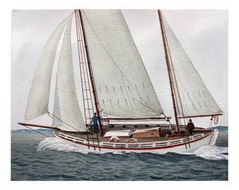 White Ketch
