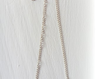 Necklace with mini electrical connector