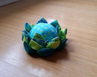 Lotus flower pincushion