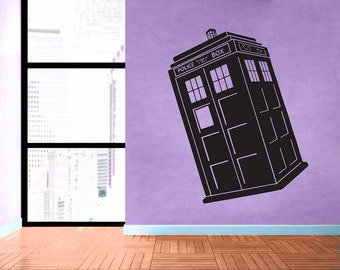 doctor who quote wibbly wobbly removable vinyl wall decal. Black Bedroom Furniture Sets. Home Design Ideas