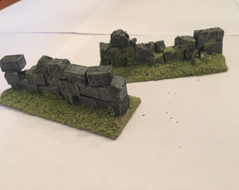 Modular Wall for Wargaming terrain (5 Pack 20% discount)