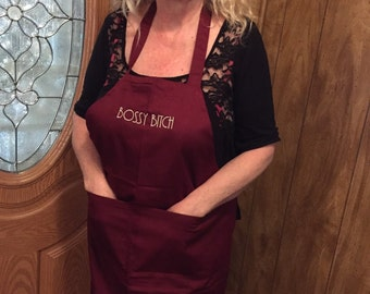 Personalized apron- your choice of words. Private Listing