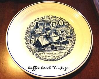 Vintage Decorative Plate-England