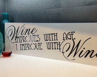 Wine Quote Sign
