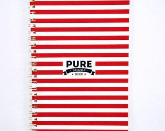 Sketchbook Notebook PUREbooks Red