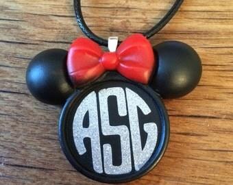 Disney, Necklace, Minnie Mouse, Mickey, Family, Jewelry