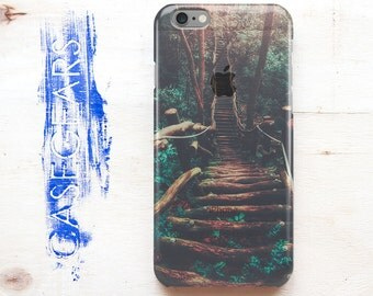 Phone Case iPhone 6 Summer iPhone 6s Case Green iPhone 6 Plus Case Tree Phone 6s Plus Case Wood iPhone SE Case Transparent 5 iPhone Case