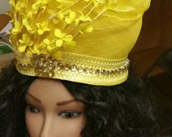 Formal Yellow Hat