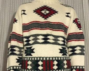 Southwestern Ski Lodge Sweater