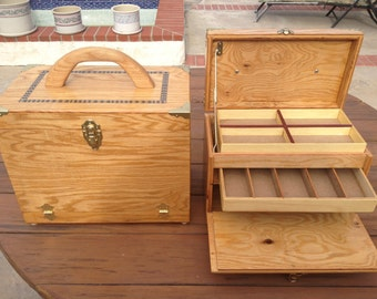 Custom Wood Tackle Box