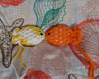 Crochet Fish Soap Savors