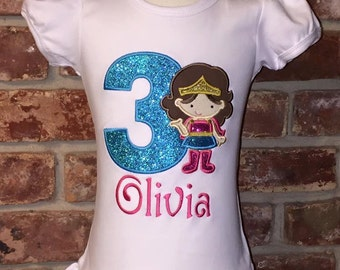 SuperHero Girl Shirt