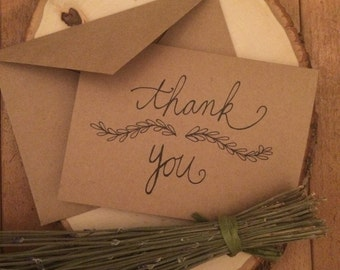 "Positive Paper Co. ""Thank you"" Card"