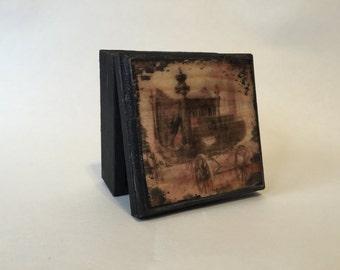 Victorian hearse box