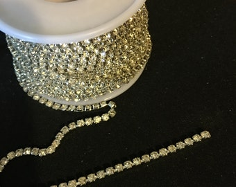 Rhinestone by the yard 3mm   G71