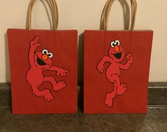 Large Sesame Street Favor Bags ***please read description on how to order