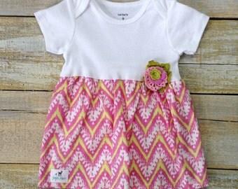 Little Fawn Dress 9mths