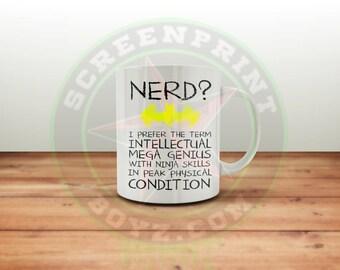 Batman Nerd Coffee Mug