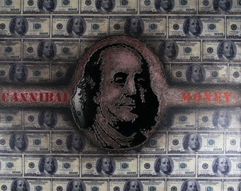 canvas cannibal money - toile cannibal money