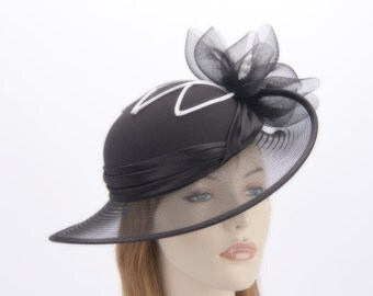 Custom made ladies fashion hats for Mother of the Bride. Any color!