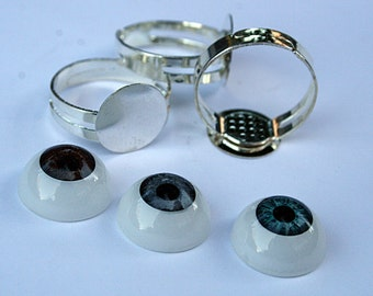 Kit material Rings Jewelry crafts Anneau ring Anello кольцо