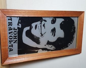 John Travolta Mirror Picture