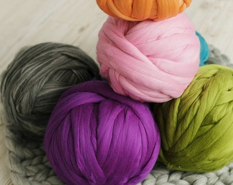 DIY trends: super chunky yarn