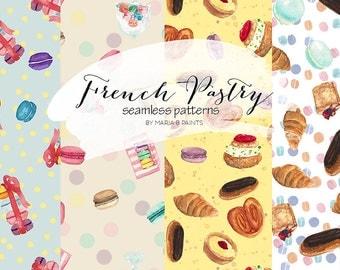 Croissant clip art | Etsy | {Französische küche clipart 58}
