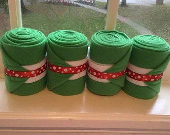 Christmas/ Holiday Wraps (set of 4)