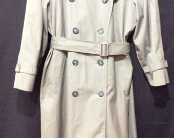 Vintage London Fog Maincoat Size Small