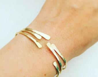 Gold bracelet, Gold cuff bracelet, Open bangle bracelet, Gold bangle bracelet, Gold filled bracelet, Gold filled bangle, Gold cuff