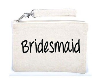 Bridesmaid  Makeup Cosmetic Bag