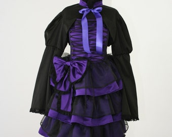 handmade Lolita Dolly Gothic Dress