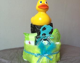 Original birth gift diaper cake