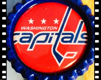 Washington Capitals Retractable ID Name Badge Pull