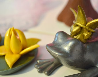 The Princess & The Frog Cake Topper