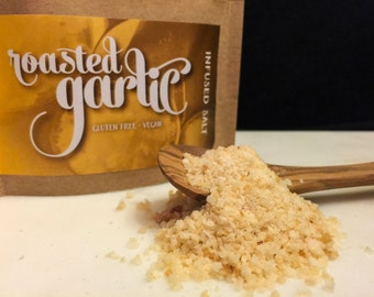Roasted Garlic Infused Salt
