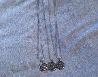 Libra Zodiac Charm Necklace