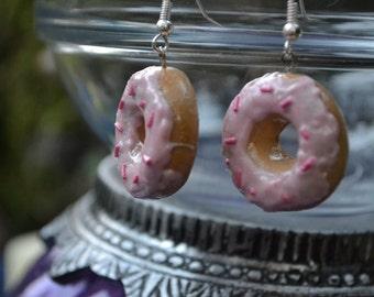 Cute Doughnut Earrings